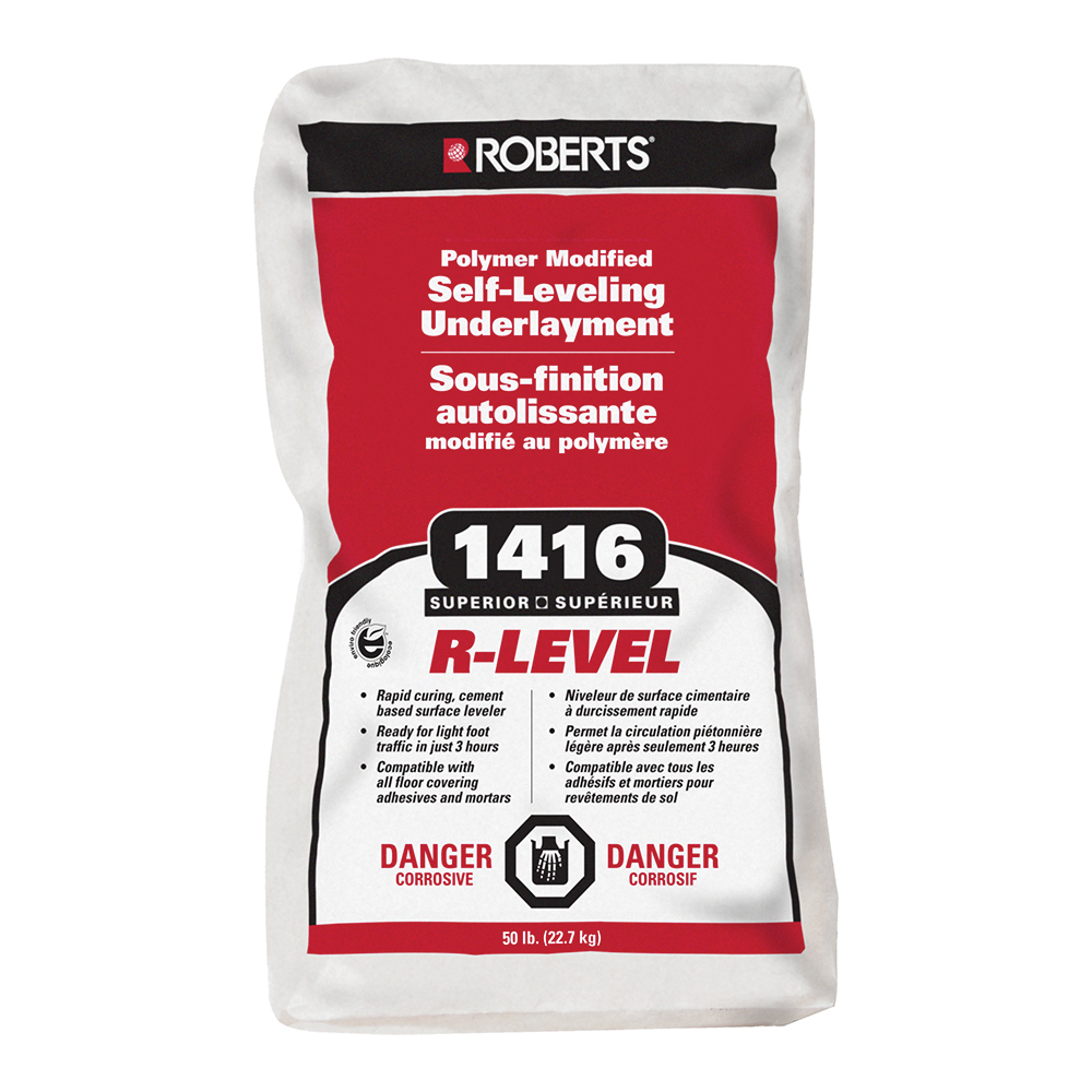 R-LEVEL Polymer Modified Self-Leveling Underlayment