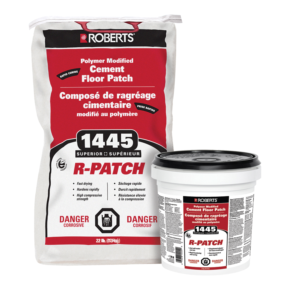 R-PATCH Polymer Modified Cement Floor Patch