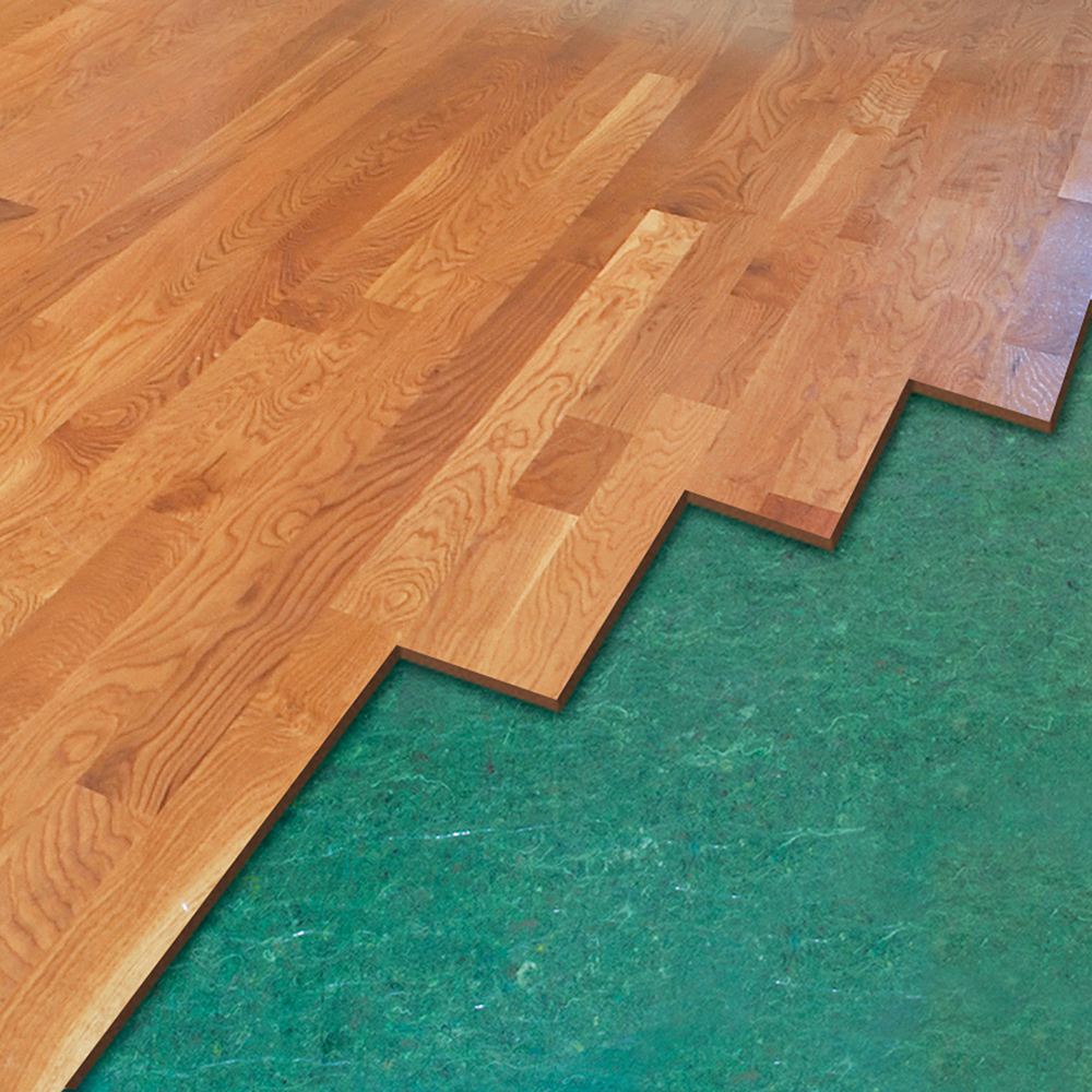 Underlayments roberts consolidated for Laminate flooring underlay