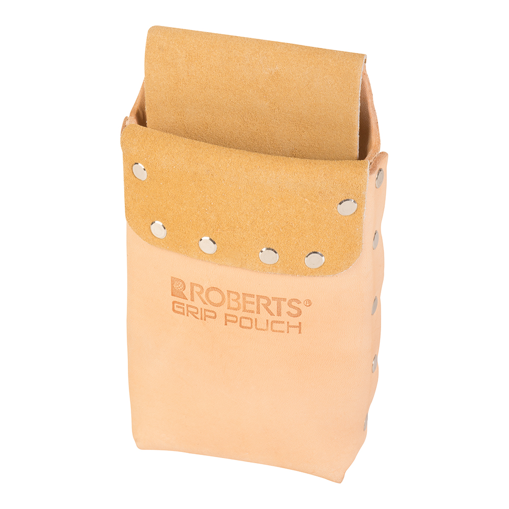 Deluxe Leather Grip Pouch