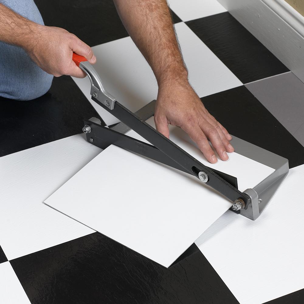 Quik-Cut Vinyl Tile Cutter