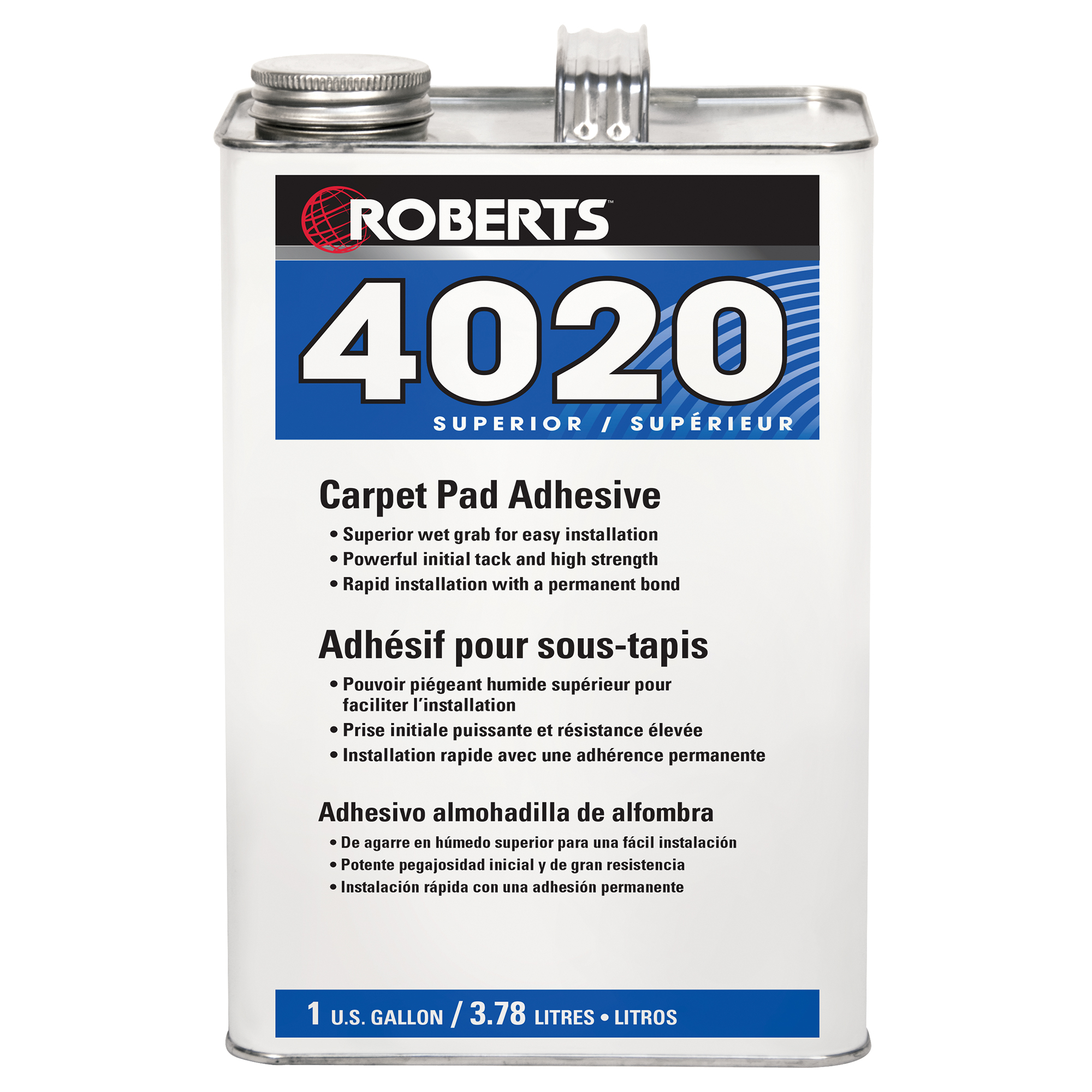 <br><em>(DISCONTINUED)</em></br>Carpet Pad Adhesive