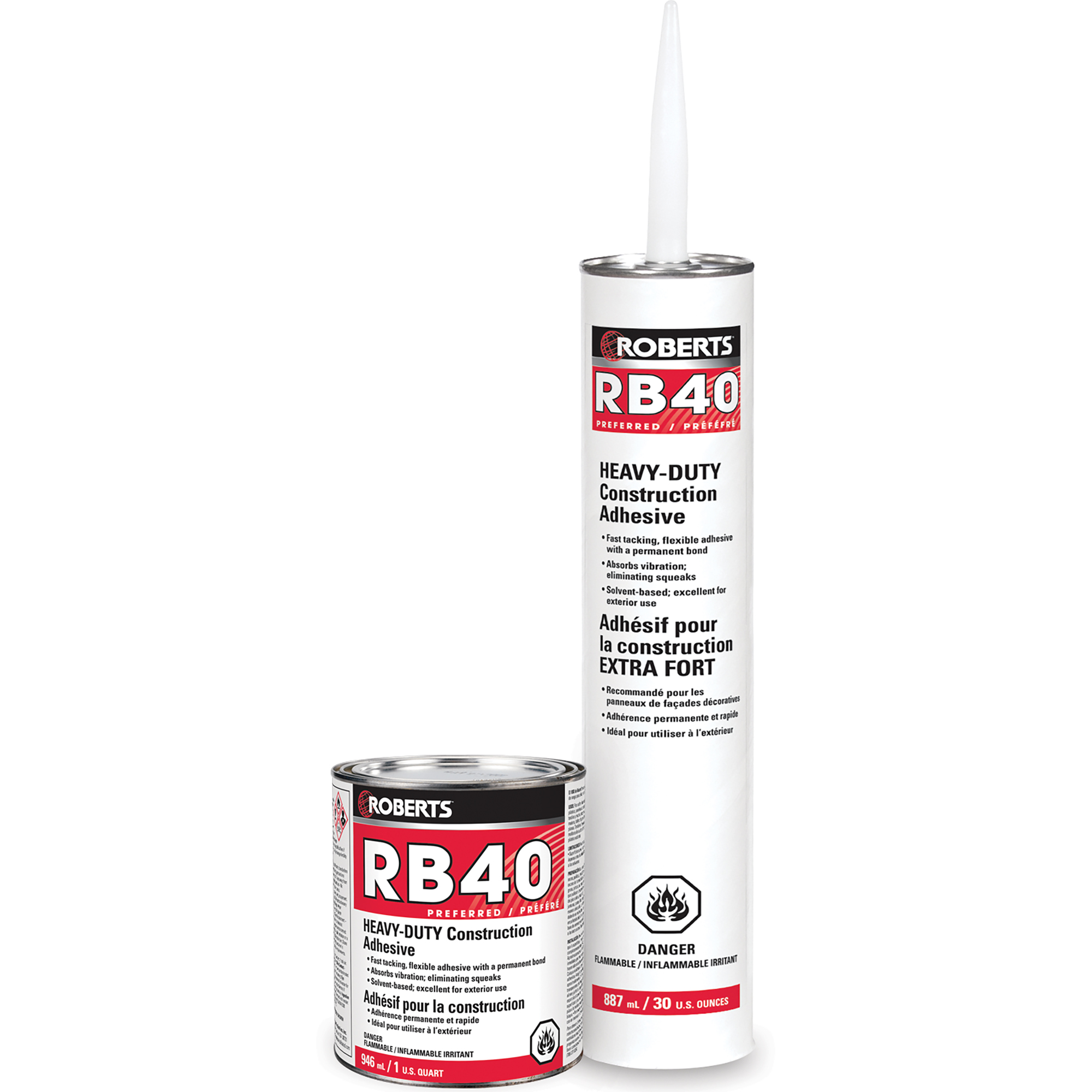 <br><em>(DISCONTINUED)</em></br>HEAVY-DUTY Construction Adhesive