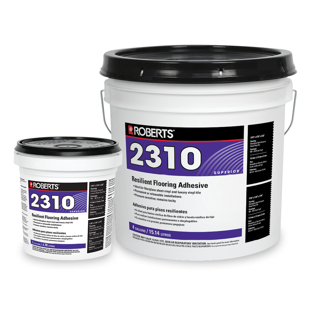 Resilient Flooring Adhesive