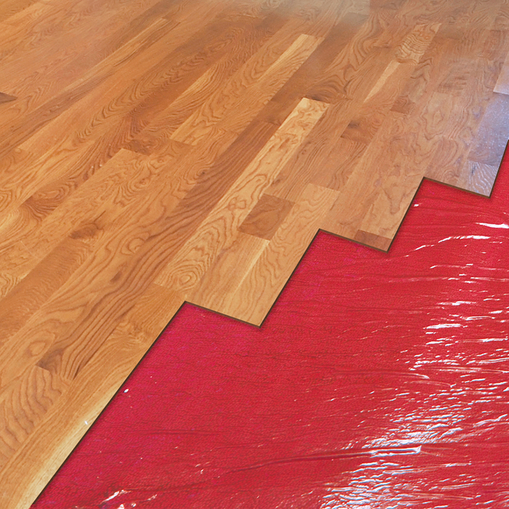 AIRGUARD Premium Underlayment Roberts Consolidated - How to install moisture barrier under laminate flooring