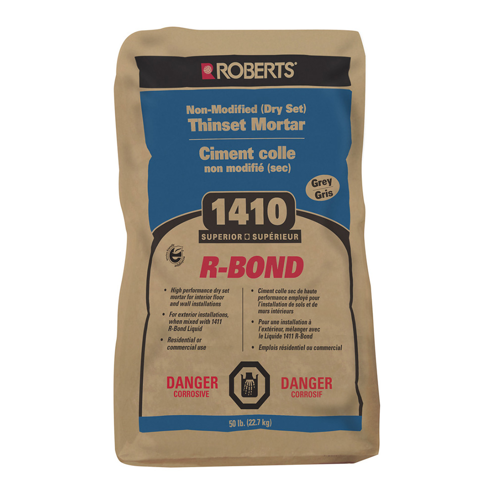 R-BOND Non-Modified (Dry Set) Thinset Mortar