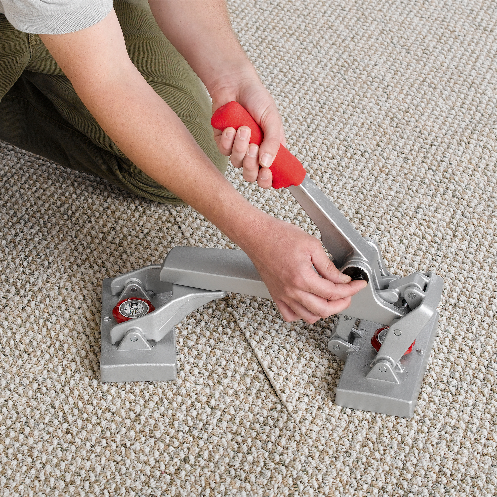 Locking Pattern Matching & Seam Repair Stretcher