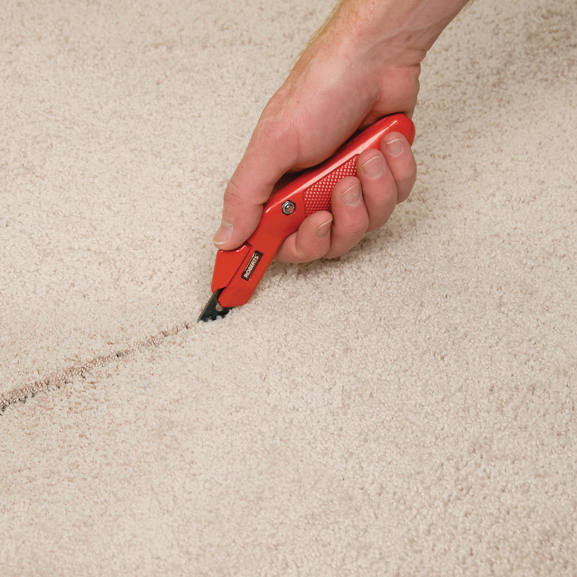 Round-End Carbon Steel Carpet Blades