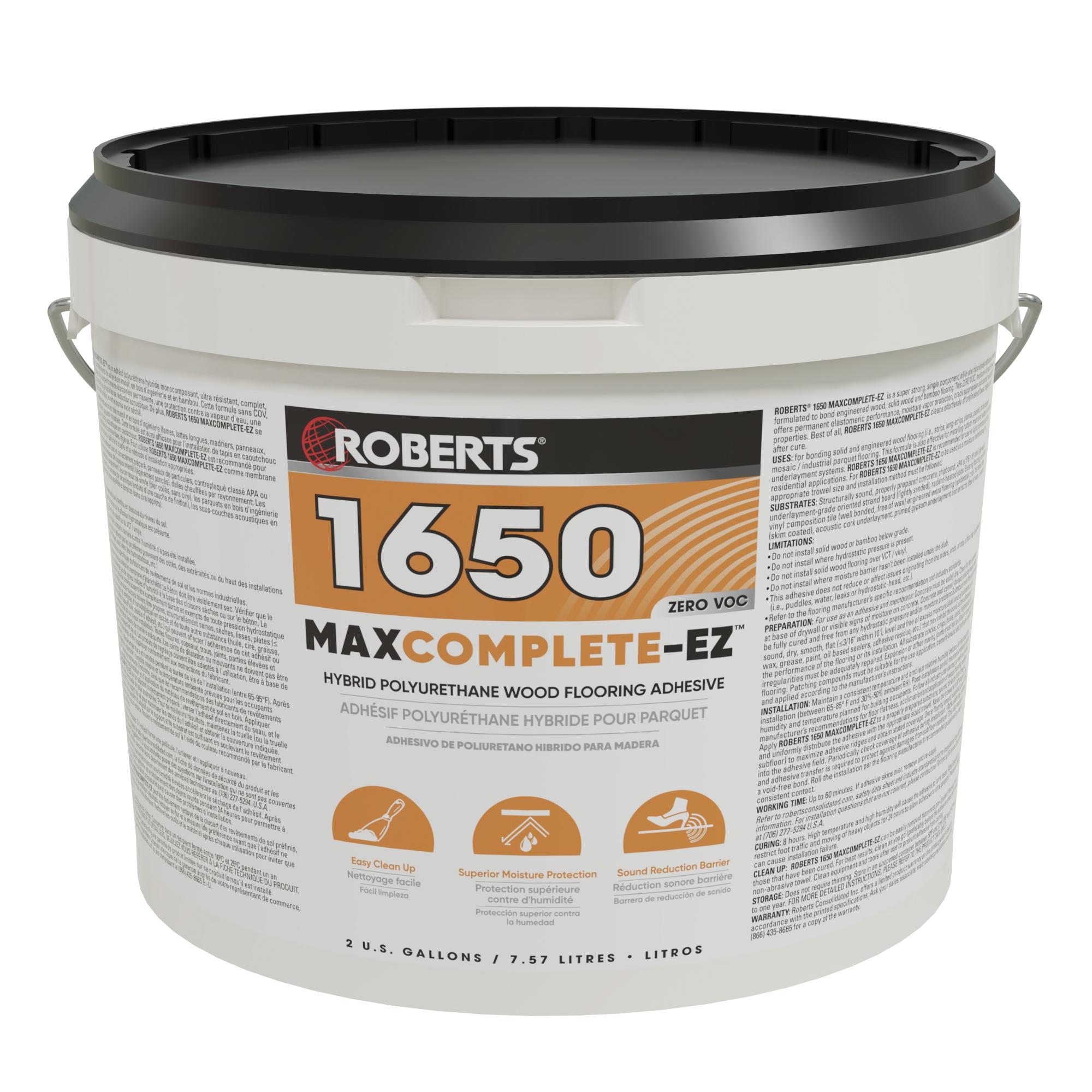 MAXCOMPLETE-EZ Polyurethane Wood Flooring Adhesive