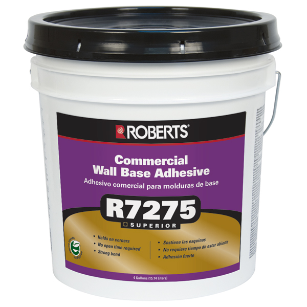 r7275 commercial wall base adhesive