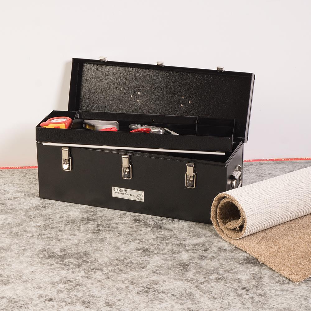 "24"" Steel Tool Box"