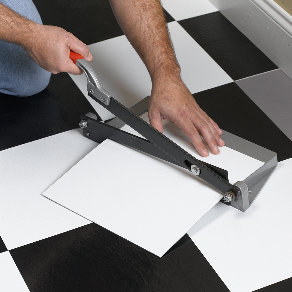 Quik-Cut Vinyl Tile Cutter