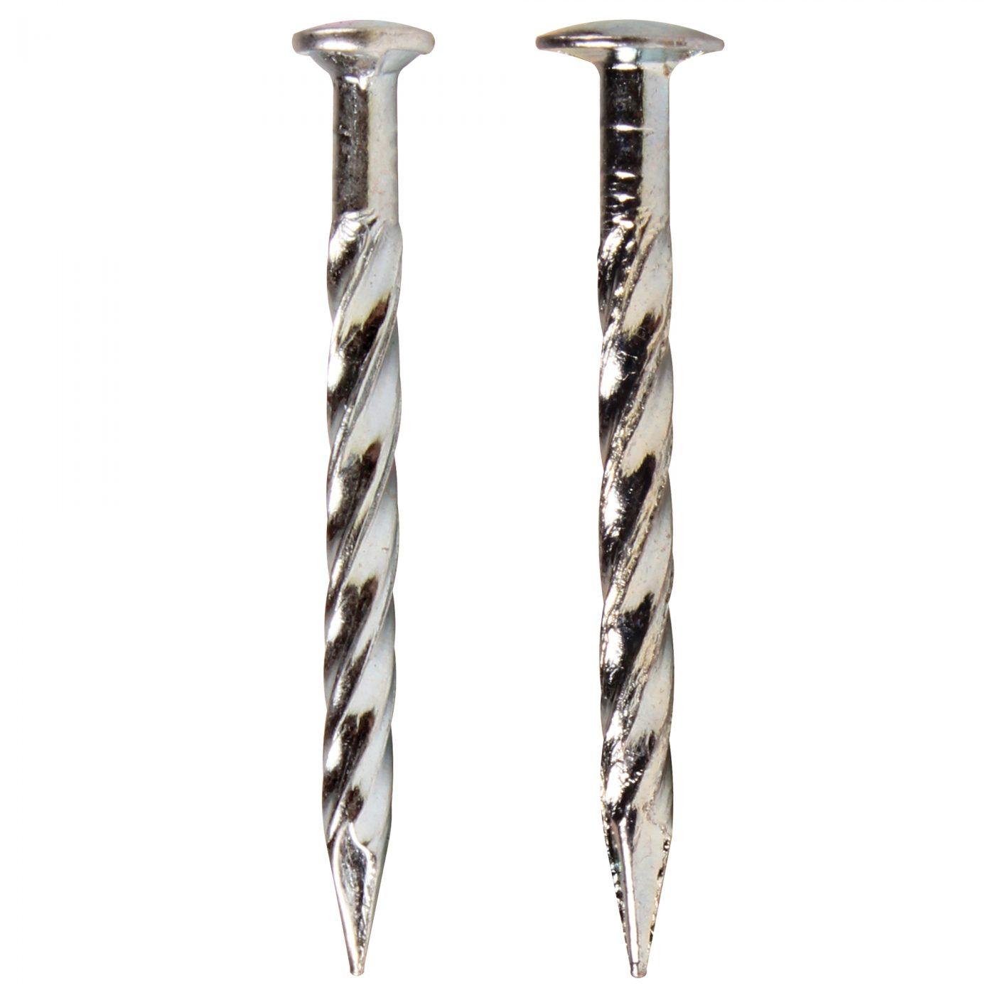 13 Gauge Drive Screw Nails Unichrome