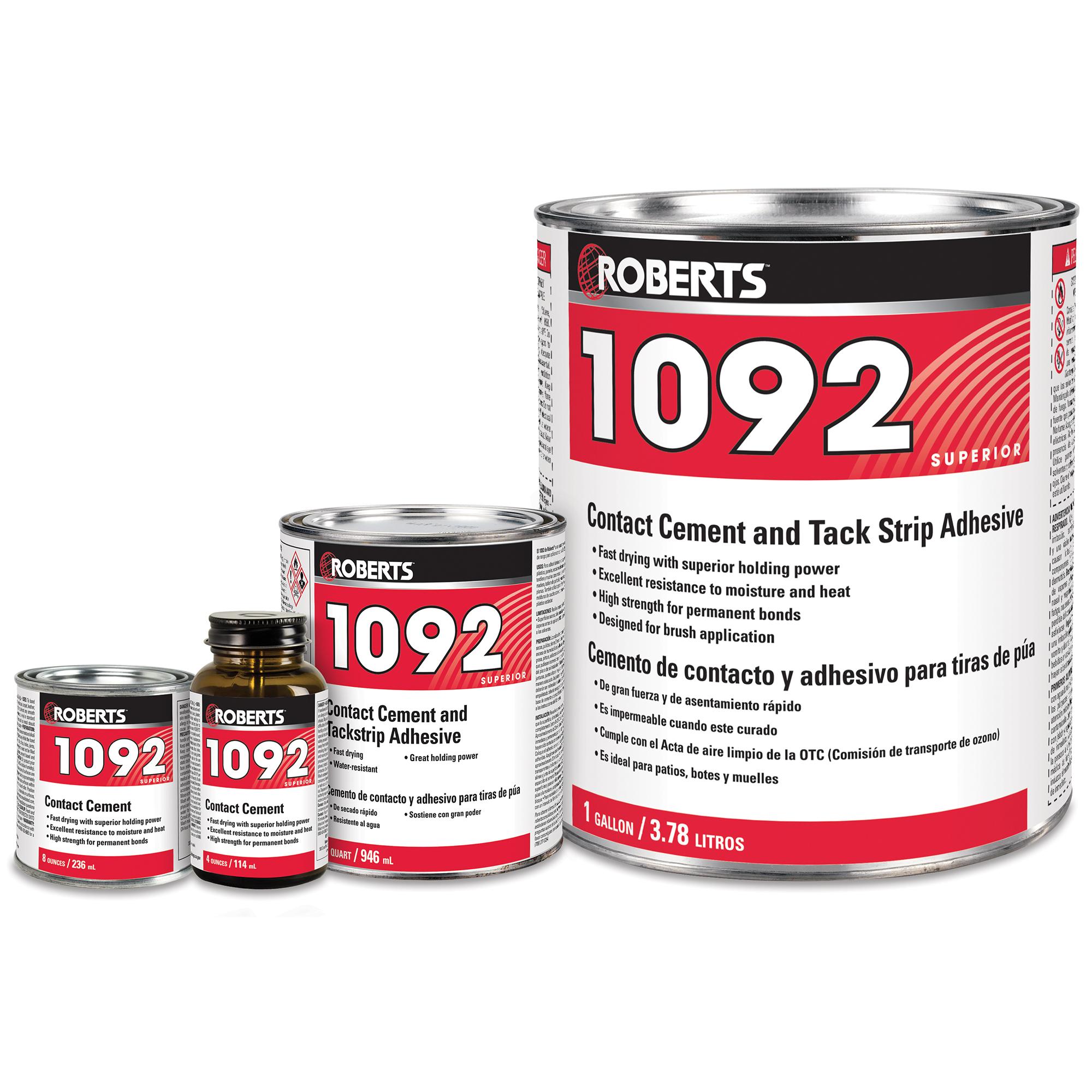 Contact Cement and Tackstrip Adhesive