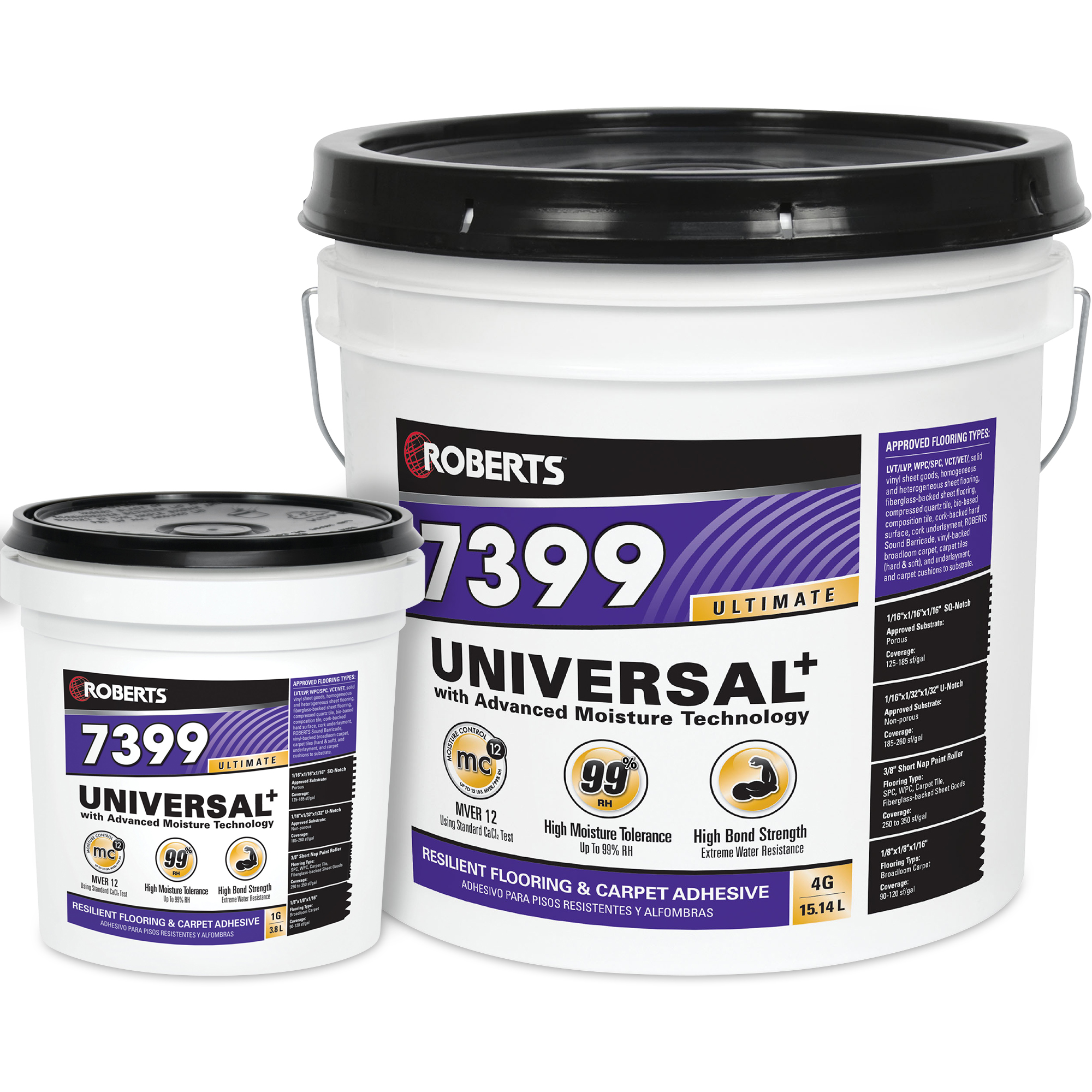 Universal Plus Resilient Flooring and Carpet Adhesive
