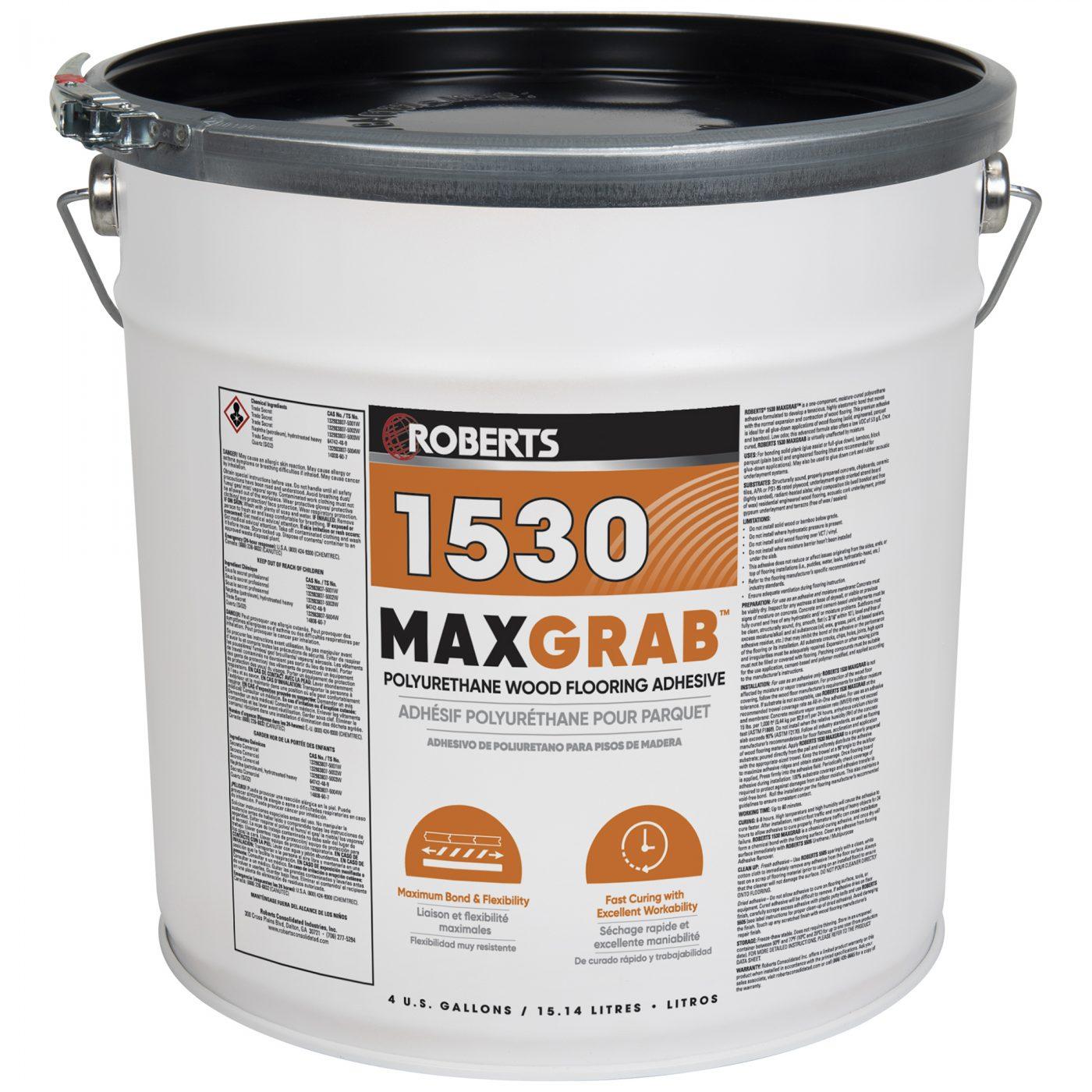 MAXGRAB Polyurethane Wood Flooring Adhesive